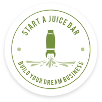 start a juice bar logo home button